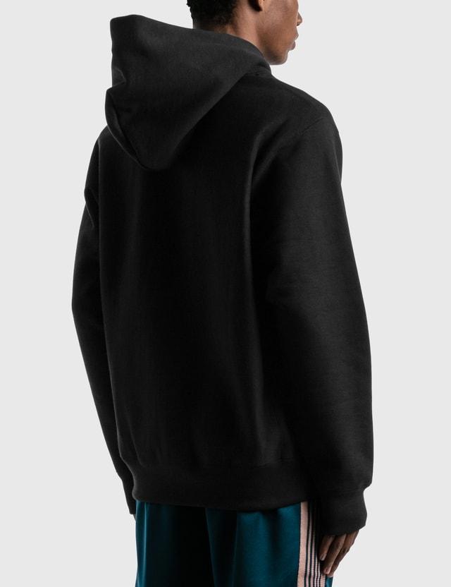 Wacko Maria Heavy Weight Pullover Hooded Sweatshirt ( Type-2 ) Black Men