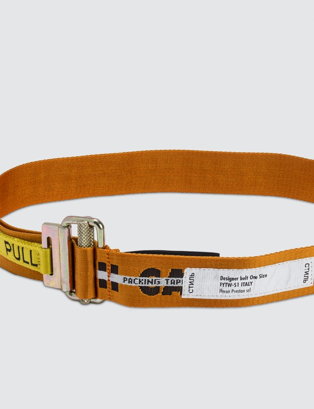 Heron Preston Handlewithcare Belt