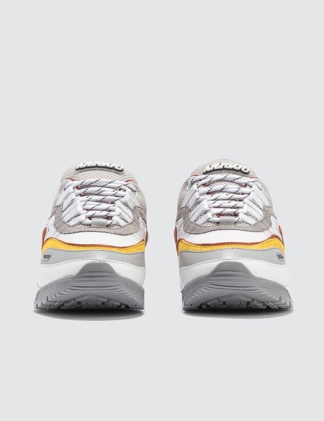 Axel Arigato Demo Runner Grey / Yellow / Rust Orange Men
