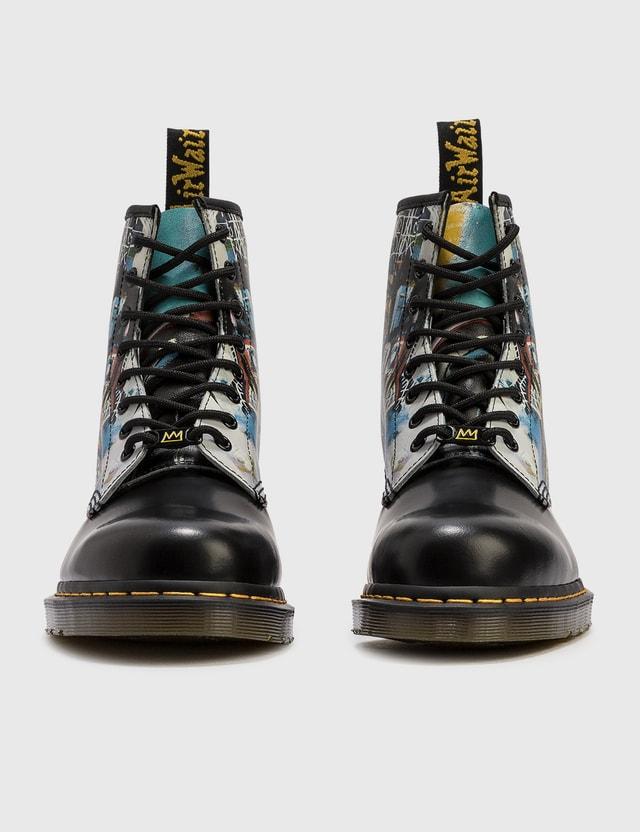 Dr. Martens Dr. Martens x Jean-Michel Basquiat 1460 Lace-up Boots Black Men