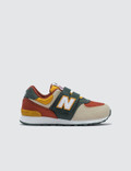 "New Balance 574 ""Color Canvas Pack"" Pre-School Picture"