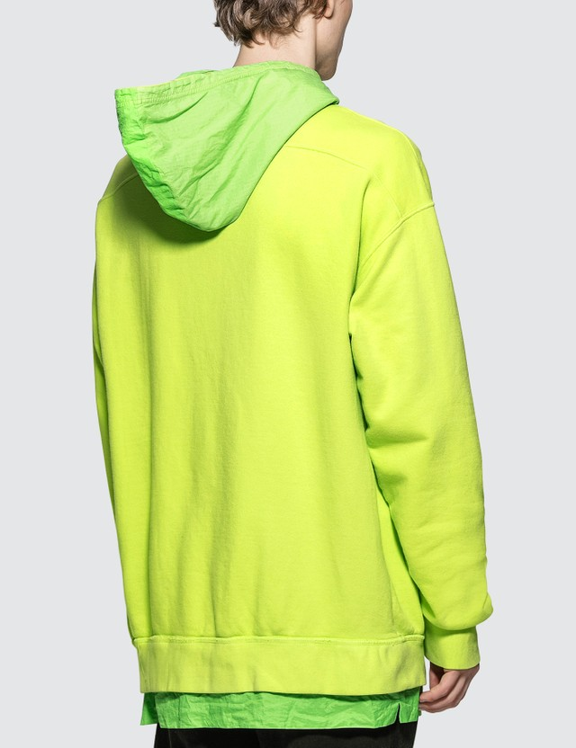 Rhude Layered French Terry Nylon Hoodie