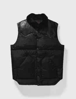 Mastermind Japan Mastermind Japan X Rocky Mountain Down With Leather Vest