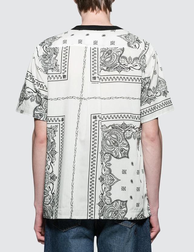 Sacai Bandana Print S/S T-Shirt