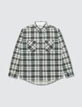 Visvim Visvim Black Elk Flannel Giza Shirt Picture