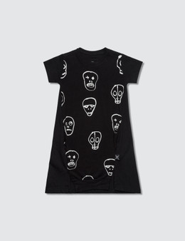 NUNUNU Skull Mask A Dress