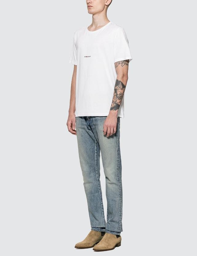 Saint Laurent Saint Laurent Logo T-shirt