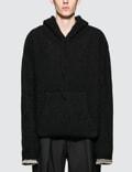 Maison Margiela Black Cashmere 3 Gauge Hoodie Picture