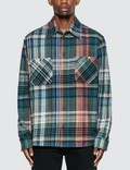 Off-White Stencil Arrow Flannel Check Shirt Picture