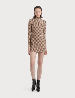 Misbhv Monogram Mini Dress