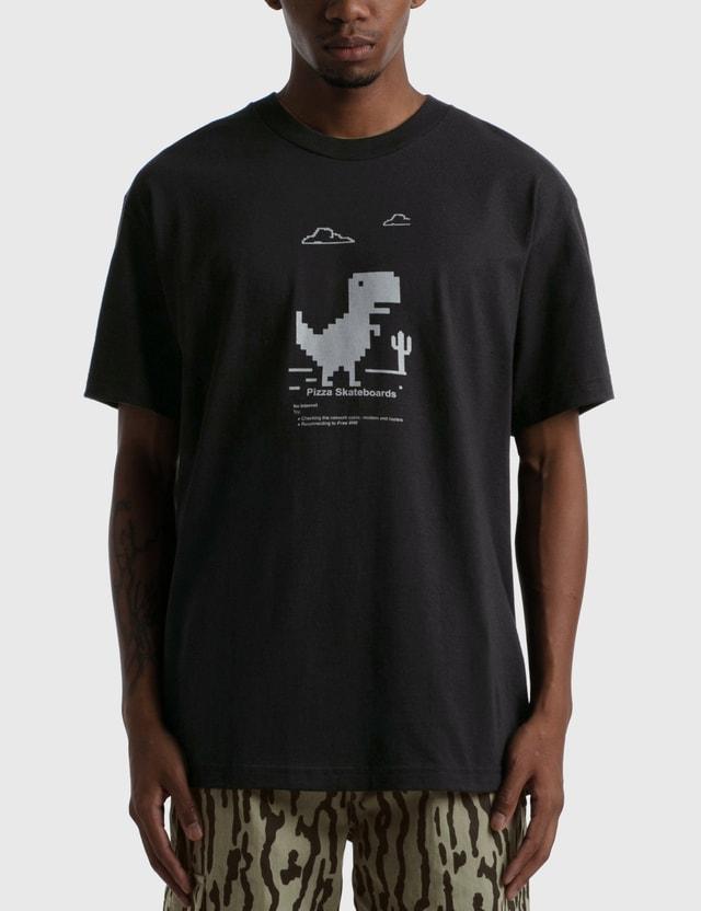Pizza Skateboards Pizza Skateboards x Free Wifi T-shirt Black Men