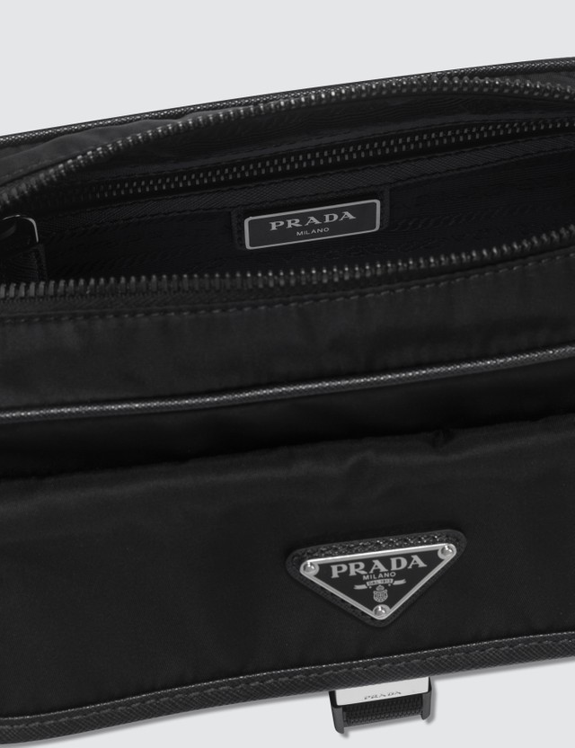 Prada Buckle Shoulder Bag