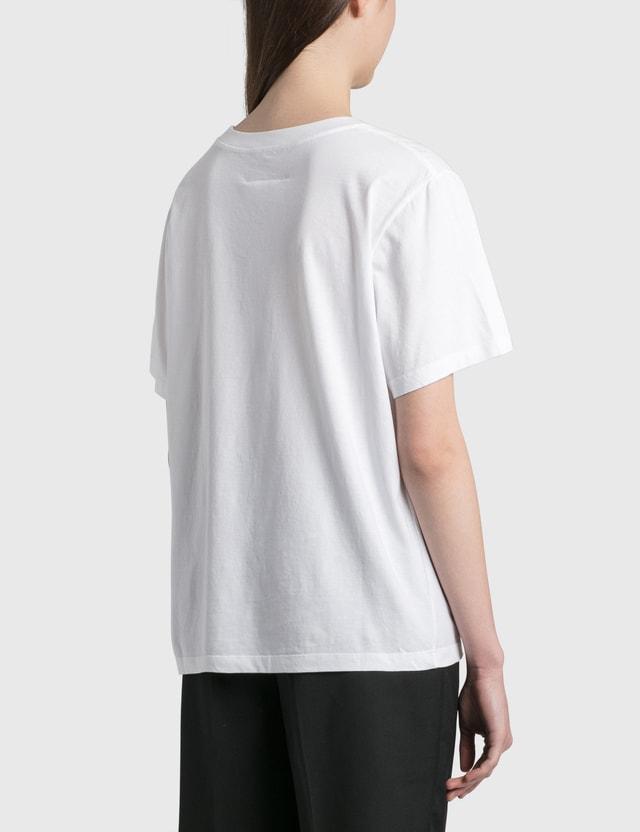 MM6 Maison Margiela Motocross Logo T-shirt White Women