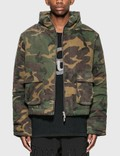 Rhude Camo Puffer Jacket Picture