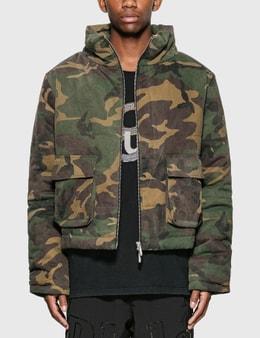 Rhude Camo Puffer Jacket