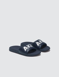 AKID Aston Sandal Navy Kids