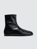 Maison Margiela Tabi Ankle Flat Boots Picutre