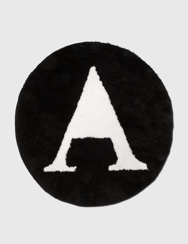 Alice Lawrance Logo Rug Black Men