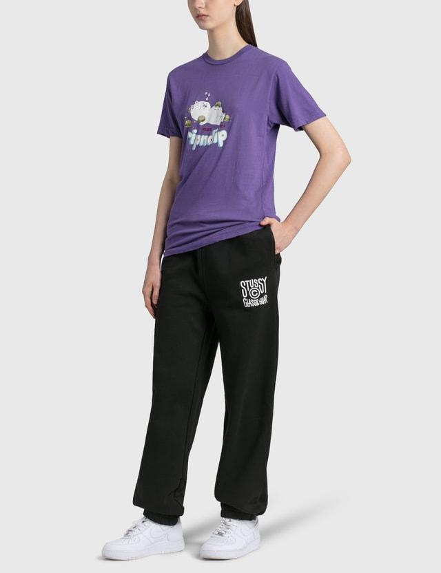 RIPNDIP Fat Hungry Baby T-Shirt Purple Women
