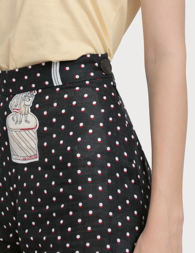 Loewe Plumetis Culotte Trousers