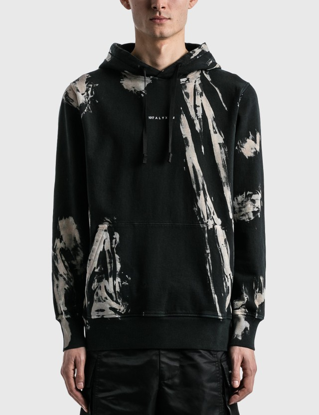 1017 ALYX 9SM Treated Logo Hoodie Black/treatment 02 Men