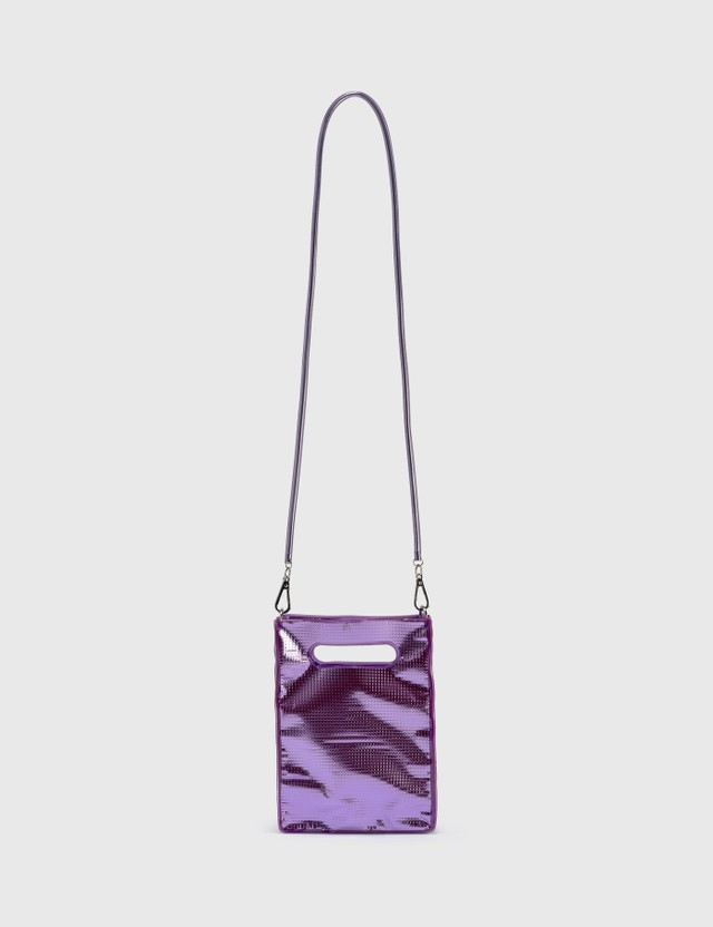 Nana-nana Silver Sheet PVC A5 Bag