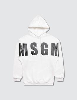 MSGM Maglia Over Felpa Girl