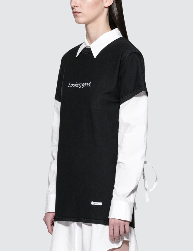 Blouse Looking Good. Feeling Gorgeous! S/S T-Shirt