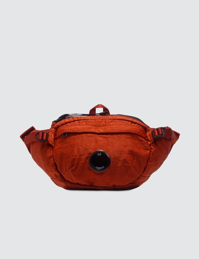 CP Company Garment Dyed Nylon Sateen Lens Waist Bag