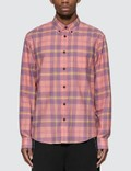 Acne Studios Waffle Check Shirt 사진