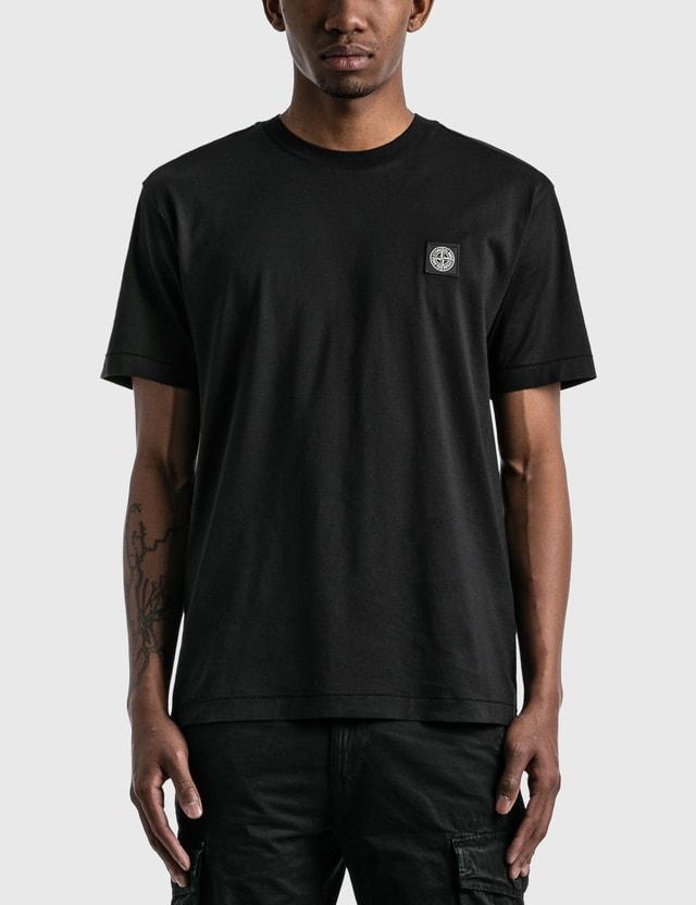 Stone Island Classic Patch T-shirt Black  Men