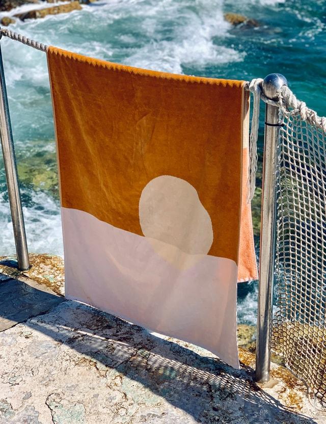 Sunnylife Luxe Towel – Desert Palms Multicolor Life