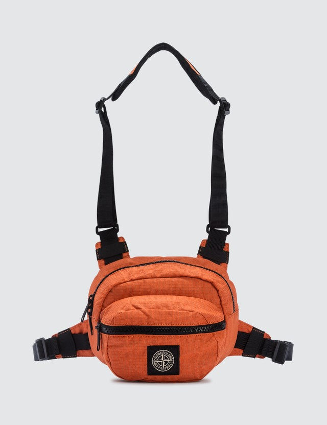 Stone Island Reflective Weave Ripstop Fanny Pack