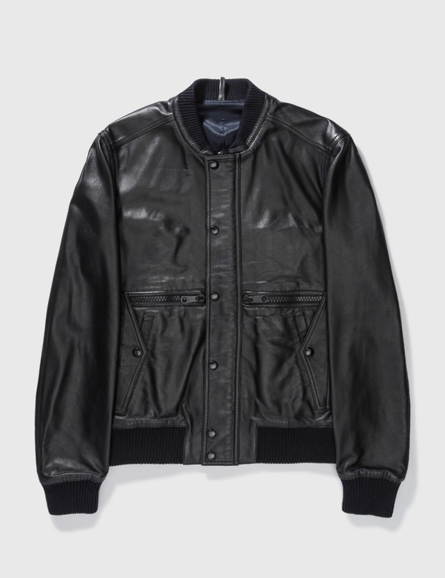 Dior Dior Leather Jacket Brown Archives