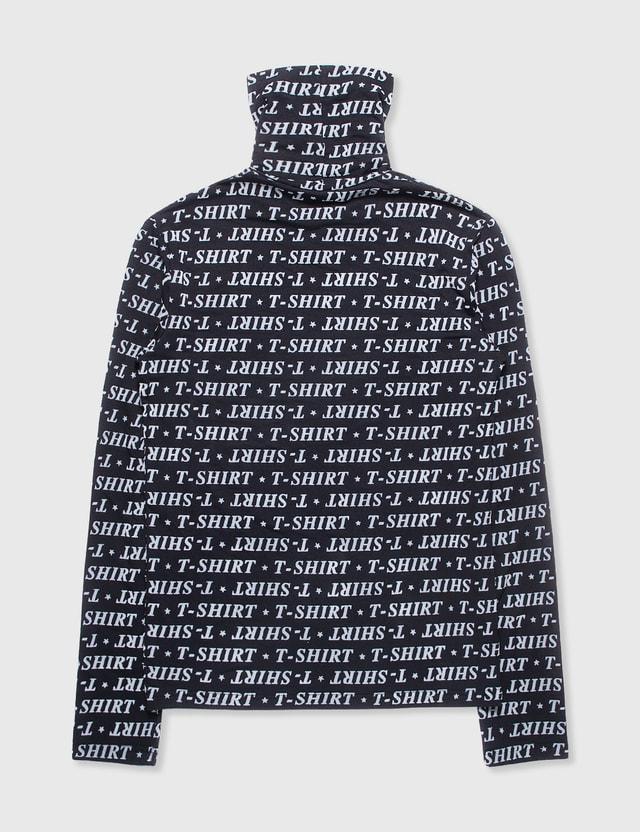Balenciaga Balenciaga Long Sleeve T-shirt Black Archives
