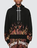 Palm Angels Tiger Flames Hoodie Picture