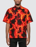 MSGM Flame Print Shirt Picture