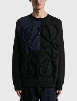 Loewe Anagram Embroidered Sweater