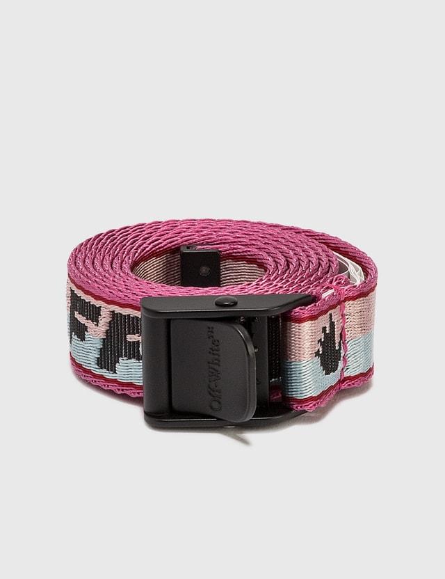 Off-White New Logo Mini Industrial Belt Pink Women