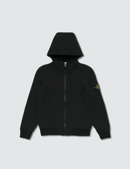 Stone Island Hooded Zip Jacket (Kids)
