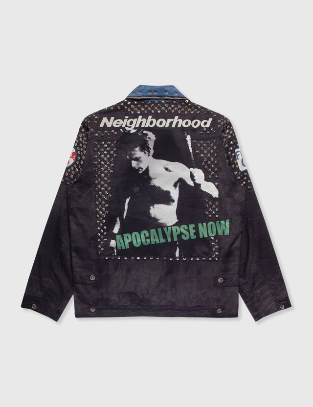 NEIGHBORHOOD Neighborhood Fake Print Jacket Black Archives