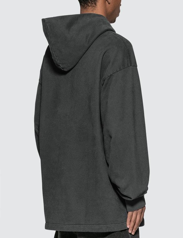 Acne Studios Reverse Label Hoodie Black Men