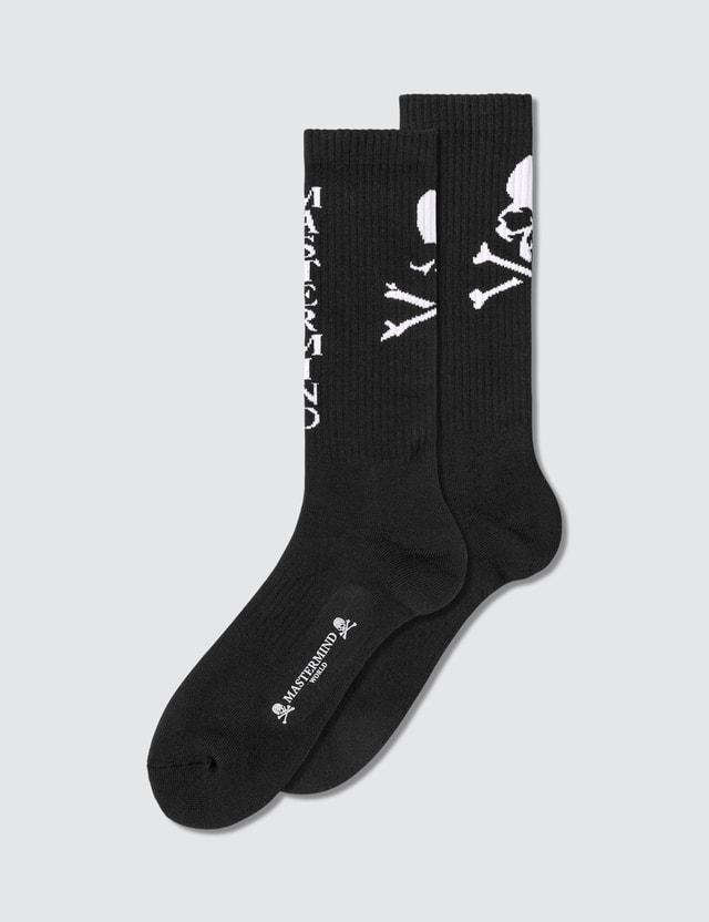 Mastermind World Skull Logo Socks
