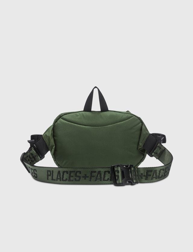 Places + Faces Pouch Bag Green Women