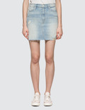 Mother The Sacred Mini Fray Skirt Picutre
