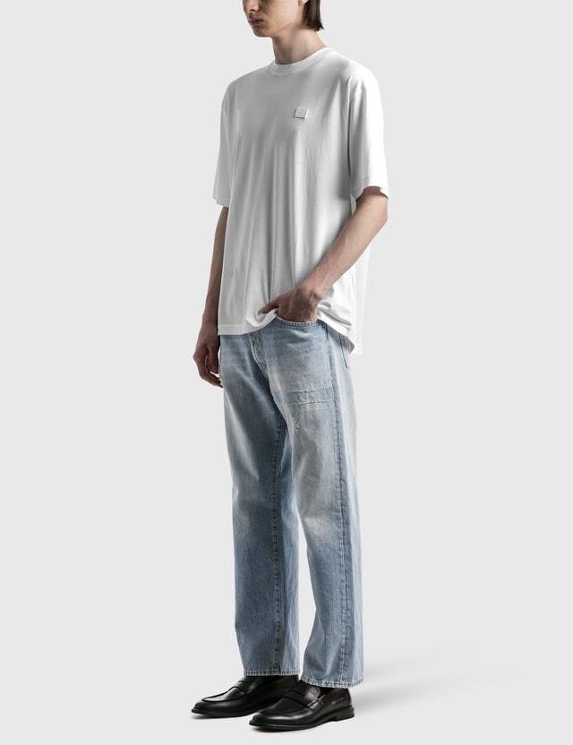 Acne Studios Exford Face T-shirt White Men
