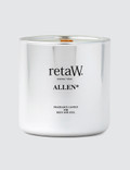 Retaw Fragrance Candle Allen Metallic Silver Picture