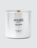 Retaw Fragrance Candle Allen Metallic Silver Picutre