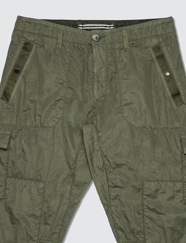 Stone Island Nylon Seersucker Cargo Pants