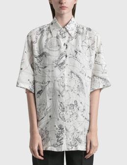 Acne Studios Saffi Printed Linen Shirt